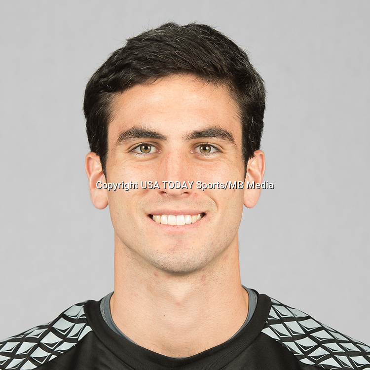 Feb 25, 2016; USA; San Jose Earthquakes player Andrew Tarbell poses for a photo. Mandatory Credit: USA TODAY Sports