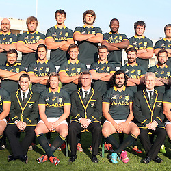 PADUA, ITALY - NOVEMBER 21: Team photograph  during the South African national rugby team photograph and captains run at Stadio Euganeo on November 21, 2014 in Padua, Italy. (Photo by Steve Haag/Gallo Images)