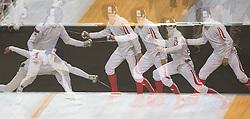 11.08.2012, Copper Box, London, GBR, Olympia 2012, Moderner Fuenfkampf, Fechten, Herren, im Bild Thomas Daniel (AUT) // Thomas Daniel (AUT) during fencing  of Men's Modern Pentathlon at the 2012 Summer Olympics at Copper Box, London, United Kingdom on 2012/08/11. EXPA Pictures © 2012, PhotoCredit: EXPA/ Johann Groder