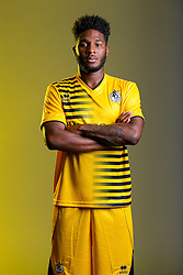Ellis Harrison of Bristol Rovers poses in the new Away Strip ahead of the 2015/16 Sky Bet League Two campaign - Mandatory byline: Rogan Thomson/JMP - 07966 386802 - 22/07/2015 - SPORT - Football - Bristol, England - Memorial Stadium - Bristol Rovers Kit Launch.