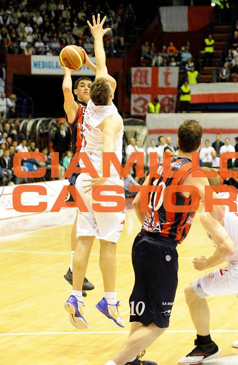 DESCRIZIONE : Milano Lega A 2011-12 EA7 Olimpia Milano Angelico Biella<br /> GIOCATORE : Marco Lagana'<br /> CATEGORIA : Three Points<br /> SQUADRA : Angelico Biella <br /> EVENTO : Campionato Lega A 2011-2012 <br /> GARA : EA7 Olimpia Milano Angelico Biella<br /> DATA : 06/05/2012<br /> SPORT : Pallacanestro <br /> AUTORE : Agenzia Ciamillo-Castoria/A.Giberti<br /> Galleria : Lega Basket A 2011-2012  <br /> Fotonotizia : Milano Lega A 2011-12 EA7 Olimpia Milano Angelico Biella<br /> Predefinita :