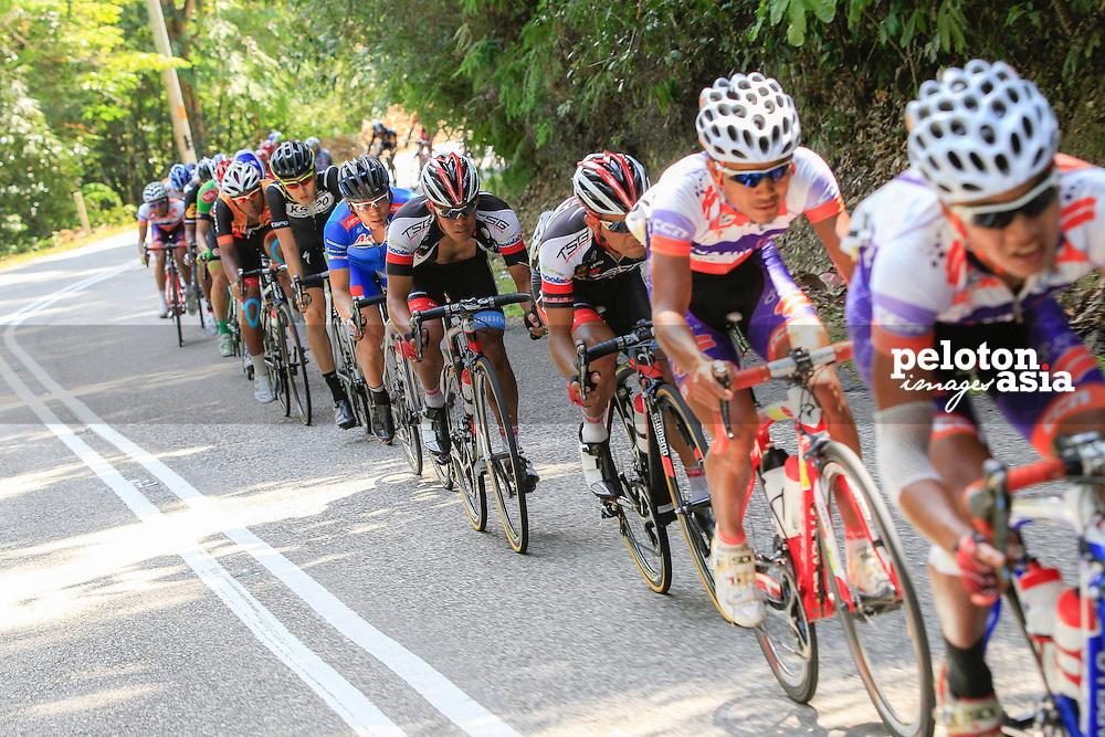 le Tour De Langkawi 2015/Stage 7- Shah Alam - Fraser's Hill/ 180.8km/Hariff Salleh/TSG
