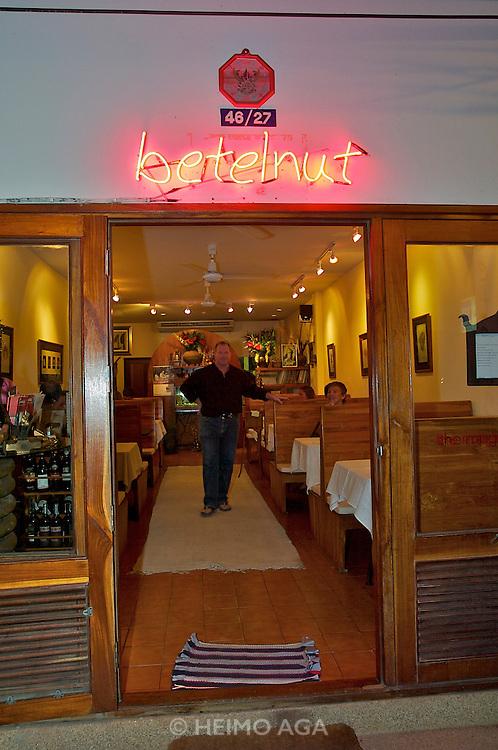 Hat Chawaeng. Betelnut restaurant, Californiathai fusion cuisine. Jeffrey Lord, Chef/Owner.