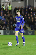 Jake Reeves midfielder for AFC Wimbledon (8) in action during the Sky Bet League 2 match between AFC Wimbledon and Portsmouth at the Cherry Red Records Stadium, Kingston, England on 26 April 2016. Photo by Stuart Butcher.