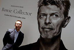 Items are displayed during the David Bowie Collector Media Preview at Sotheby's on September 26, 2016 in New York City, NY, USA. Photo by Dennis Van Tine/ABACAPRESS.COM