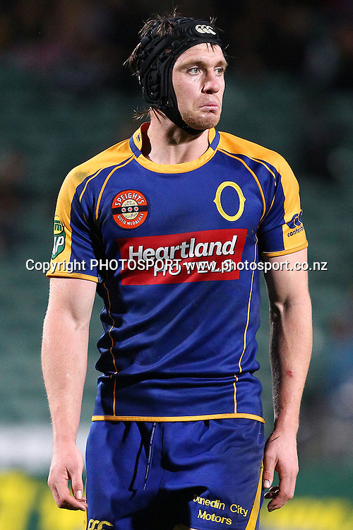 Otago's Ben Smith reacts. ITM Cup rugby union match, North Harbour v Otago at North Harbour Stadium, Albany, Auckland, New Zealand. Thursday 19th August 2010. Photo: Anthony Au-Yeung/PHOTOSPORT