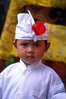 Young Balinese boy, Peliatan, near Ubud, Bali, Indonesia
