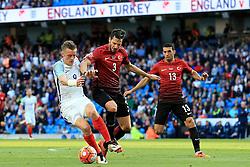 Jamie Vardy of England in action - Mandatory byline: Matt McNulty/JMP - 07966386802 - 22/05/2016 - FOOTBALL - Etihad Stadium -Manchester,England - England v Turkey - International Friendly