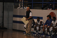 Water Valley head coach John Sherman vs. Charleston in boys high school basketball action in Water Valley, Miss. on Thursday, November 29, 2012.