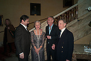 NATHANIEL PARKER; HELEN MIRREN; STEPHEN DALDRY; EDWARD FOX, The Audience Press night, Gielgud Theatre and after-party at the Horseguard Hotel. London. 5 March 2013
