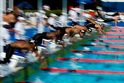 Athletes start during the 13th FINA World Championships Roma 2009, on July 29, 2009, at the Stadio del Nuoto,  in Foro Italico, Rome, Italy. (Photo by Vid Ponikvar / Sportida)