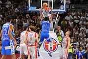 DESCRIZIONE : Campionato 2014/15 Serie A Beko Dinamo Banco di Sardegna Sassari - Grissin Bon Reggio Emilia Finale Playoff Gara3<br /> GIOCATORE : Shane Lawal<br /> CATEGORIA : Schiacciata Controcampo<br /> SQUADRA : Dinamo Banco di Sardegna Sassari<br /> EVENTO : LegaBasket Serie A Beko 2014/2015<br /> GARA : Dinamo Banco di Sardegna Sassari - Grissin Bon Reggio Emilia Finale Playoff Gara3<br /> DATA : 18/06/2015<br /> SPORT : Pallacanestro <br /> AUTORE : Agenzia Ciamillo-Castoria/C.Atzori