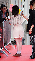 """Edinburgh International Film Festival, Sunday 26th June 2016<br /> <br /> Stars turn up on the closing night gala red carpet for the World Premiere of """"Whisky Galore!""""  at the Edinburgh International Film Festival 2016<br /> <br /> Game of Thrones star Ellie Kendrick, who plays Catriona Macroon in the film.<br /> <br /> (c) Alex Todd 