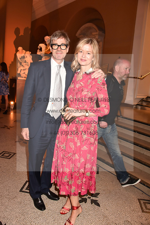 Tim & Lady Helen Taylor at the Victoria & Albert Museum's Summer Party in partnership with Harrods at The V&A Museum, Exhibition Road, London, England. 20 June 2018.