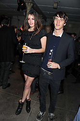 LILLIE RAGE and TARA FERRY at a party to celebrate the launch of the new Vertu Constellation phone - the luxury phonemakers first touchscreen handset, held at the Farmiloe Building, St.John Street, Clarkenwell, London on 24th November 2011.