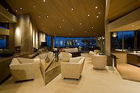 A modern interior