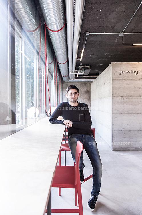Milan, Talent Garden coworking company. Davide Dattoli, cofondatore e CEO di Talent Garden