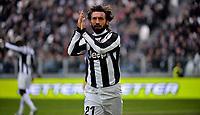 Andrea Pirlo Juventus.Calcio Juventus vs Sampdoria.Serie A - Torino 06/1/2013 Juventus Stadium .Football Calcio 2012/2013.Foto Federico Tardito Insidefoto