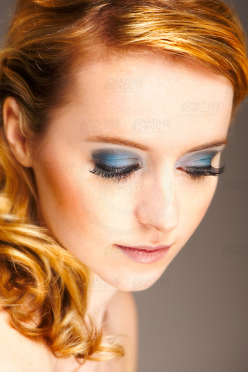 Fashion make up by Jessica Mills on model Danielle Johns