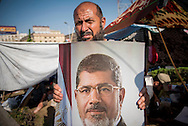 © Benjamin Girette / IP3 PRESS:  July 4th, 2013 : Pro Morsi supporters gathered in Nasr city, Cairo.
