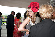 ELLA MAY SANGSTER;, Glorious Goodwood. Ladies Day. 28 July 2011. <br /> <br />  , -DO NOT ARCHIVE-© Copyright Photograph by Dafydd Jones. 248 Clapham Rd. London SW9 0PZ. Tel 0207 820 0771. www.dafjones.com.