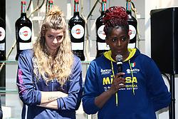 CRISTINA CHIRICHELLA E MYRIAM SYLLA<br /> CONFERENZA LEGA VOLLEY FEMMINILE SQUADRE ITALIANE PROTAGONISTE IN EUROPA<br /> FOTO FILIPPO RUBIN / LVF