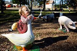 Gemma Marie Palmer at 14 months, Sunday, Oct. 21, 2018  at Huber's Farm in Starlight.