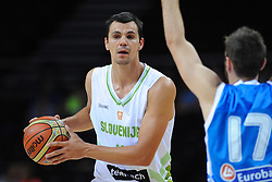 Jure Balazic of Slovenia during friendly match between National Teams of Slovenia and Greece before World Championship Spain 2014 on August 17, 2014 in Kaunas, Lithuania. Photo by Robertas Dackus / Sportida.com