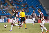 20120207: RIO DE JANEIRO, BRAZIL - Player Carlinhos  (FLU) at football match between Fluminense (BRA) vs  Arsenal de Sarandi (ARG) for Copa Libertadores, held at Engenhao stadium in RJ<br />