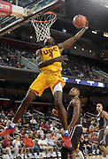Nov 22, 2017; Los Angeles, CA, USA; Southern California Trojans forward Chimezie Metu (4) shoots the ball against the Lehigh Mountain Hawks during an NCAA basketball game at Galen Center. USC defeated Lehigh 88-63.