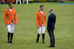 Houtzagers Marc, Smolders Harrie, Ehrens Rob, NED<br /> CHIO Aachen 2017<br /> © Hippo Foto - Dirk Caremans<br /> 20/07/2017