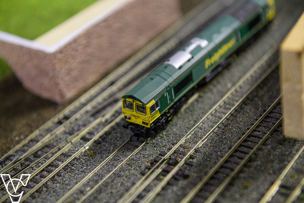INSIGHT MAGAZINE: Bridlington Model Railway Society are based in Station Road, Bridlington, in a railway arch unit owned by Network Rail.  Pictured is one of the club's engines.<br /> <br /> Picture: Chris Vaughan Photography<br /> Date: May 31, 2017