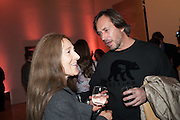 TRICIA JONES; MARC NEWSON, Opening of Bailey's Stardust - Exhibition - National Portrait Gallery London. 3 February 2014
