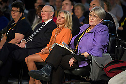 © Licensed to London News Pictures. 18/09/2018. Brighton, UK.  Former party leader MENZIES CAMPBELL and Lib Dem peer SAL BRINTON attend the final day of the Liberal Democrat Autumn Conference in Brighton, East Sussex on September 18, 2018. This years event has been mainly focused around Brexit, the UK's departure from the EU. Photo credit: Ben Cawthra/LNP