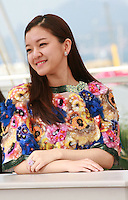 Actress Ko A-sung at the Office film photo call at the 68th Cannes Film Festival Tuesday May 19th 2015, Cannes, France.