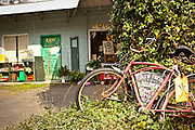 Art studio and shop in the tiny artists village of Bluffton, South Carolina, USA.