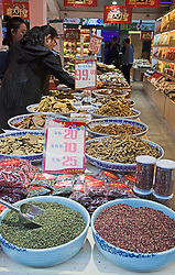 Chinese Food and Spices Store, Ciqikou, Chongqing.