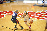 "Ole Miss' Gracie Frizzell (12) vs. Belmont's Katie Brooks (32) at the C.M. ""Tad"" Smith Coliseum in Oxford, Miss. on Sunday, December 16, 2012. Ole Miss won 63-48."