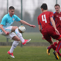 20180308: SRB, Football - Youth Tournament, Slovenia Under-16 vs Czech Republic Under-16
