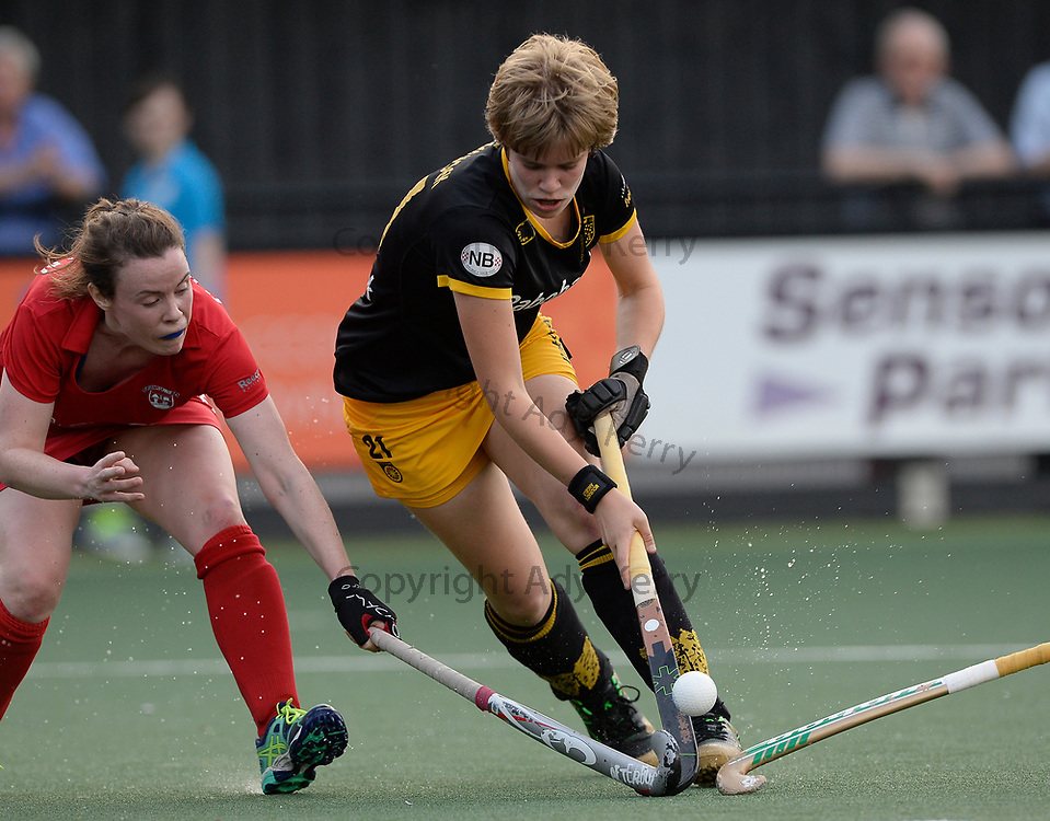 Den Bosch's Imme van der Hoek  during their opening game of the EHCC 2017 at Den Bosch HC, The Netherlands, 2nd June 2017