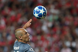 September 19, 2018 - Lisbon, Portugal - Bayern Munich's midfielder Arjen Robben from Nederlands in action during the UEFA Champions League Group E football match SL Benfica vs Bayern Munich at the Luz stadium in Lisbon, Portugal on September 19, 2018. (Credit Image: © Pedro Fiuza/ZUMA Wire)