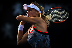 January 6, 2019 - Brisbane, AUSTRALIA - Lesia Tsurenko of the Ukraine in action during the final of the 2019 Brisbane International WTA Premier tennis tournament (Credit Image: © AFP7 via ZUMA Wire)