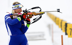 Tadeja Brankovic Likozar at training session of Slovenian biathlon team before new season 2009/2010,  on November 16, 2009, in Pokljuka, Slovenia.   (Photo by Vid Ponikvar / Sportida)