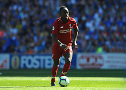 Sadio Mane of Liverpool in action - Mandatory by-line: Nizaam Jones/JMP - 21/04/2019 -  FOOTBALL - Cardiff City Stadium - Cardiff, Wales -  Cardiff City v Liverpool - Premier League