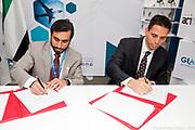 UAE signature at OACI -  OACI / Montreal / Canada / 2018-10-12, © Photo Marc Gibert / adecom.ca