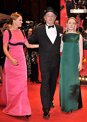(L-R) Lea Seydoux, Bill Murray and Saoirse Ronan  attend the Opening Party of the 64th Berlinale International Film Festival, Berlin, Germany, Thursday, 6th February 2014. Picture by  Schneider-Press / i-Images<br /> UK & USA ONLY