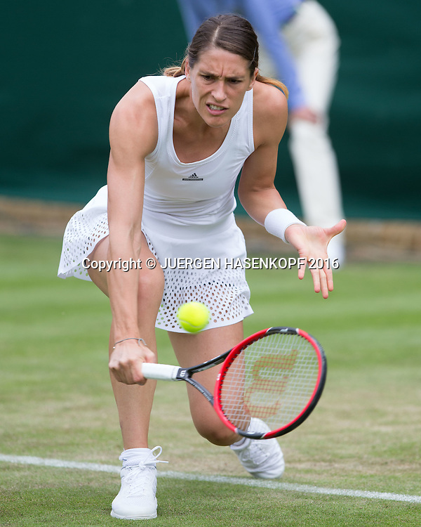 Andrea Petkovic (GER)<br /> <br /> Tennis - Wimbledon 2016 - Grand Slam ITF / ATP / WTA -  AELTC - London -  - Great Britain  - 28 June 2016.