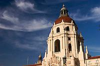 Baroque Italian Renaissance Architecture Style Dome of Pasadena City Hall, Pasadena, California