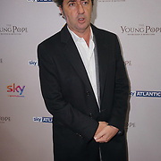 London, England,UK. 13th Oct 2016: Oscar-winning director Paolo Sorrentino at the UK premiere of The Young Pope, starting 27 October exclusively on Sky Atlantic at Corinthia Hotel London, UK. Photo by See Li