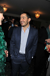 GILES COREN at a dinner in aid of the charity Save The Rhino held at ZSL London Zoo, Regents Park, London NW1 on 16th November 2011.